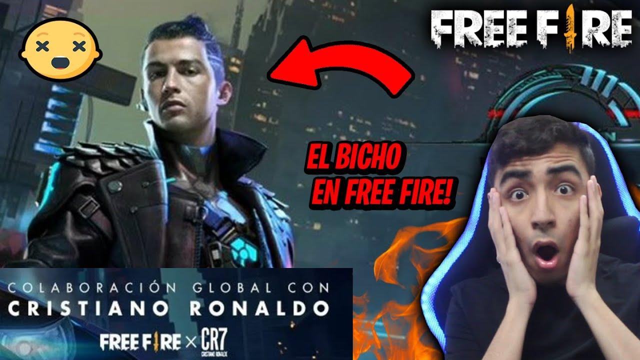 Reaccionando A Cr7 X Free Fire La Nueva Colaboracion Epica Cristiano Ronaldo Personaje Y Emotes Youtube