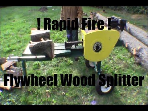 Ricks Diy Assembling Rapid Fire Kinetic Flywheel Wood S