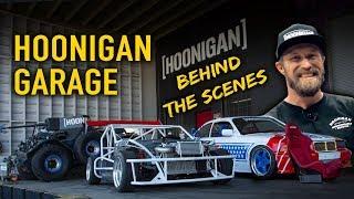 Hoonigan Garage - Behind The Scenes
