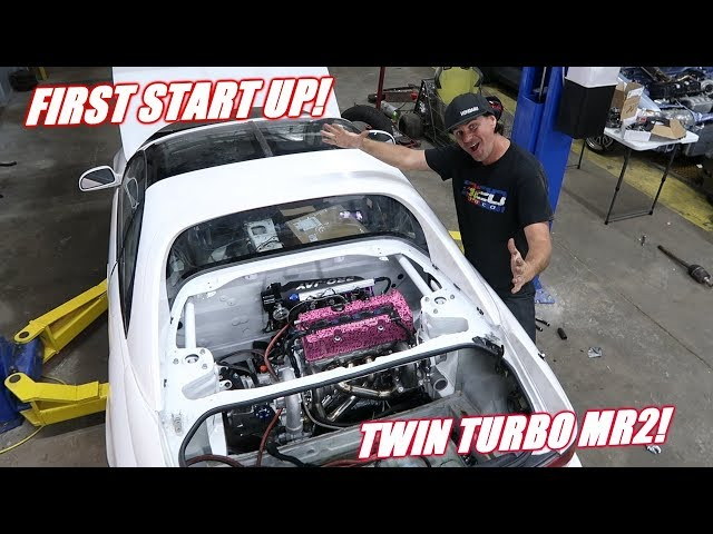 Twin Turbo Mr2 Is ALIVE!