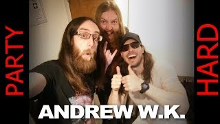 Andrew W.K. Interview Birmingham April 2018