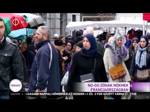NO-GO zónák nőknek Franciaországban