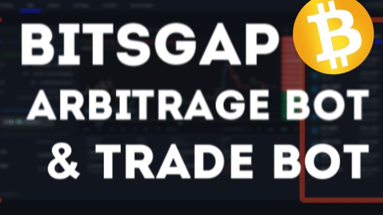 BITSGAP - will make you a millionaire 2020 / TRADE BOT with Automated trading