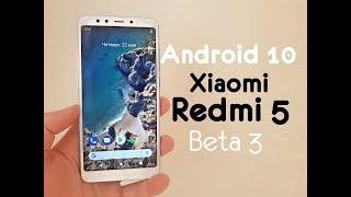 Обзор Android 10 на Xiaomi Redmi 5 / Бета 3