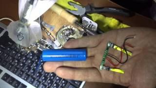 Замена аккумулятора планшета (переданного под раздачу WiFi)