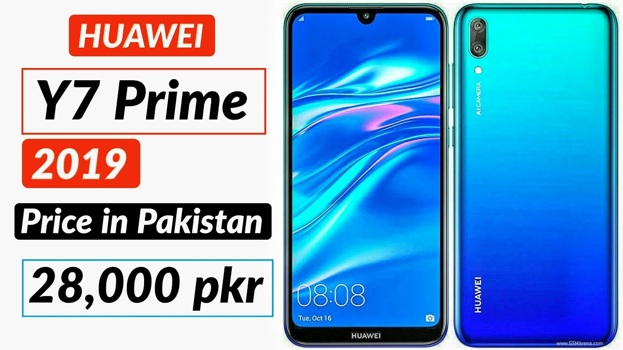 Huawei Y7 Prime 2019 Price in Pakistan || review