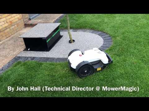 Ambrogio Robot Mower Bunker - Robot Mower Lift Elevator Garage for an Ambrogio 4.0