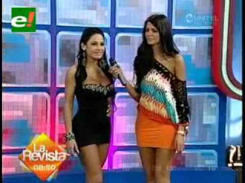 Paola Toullier  Presente en Exponorte 2012 Boliviana VIVA BOLIVIA CARAJO