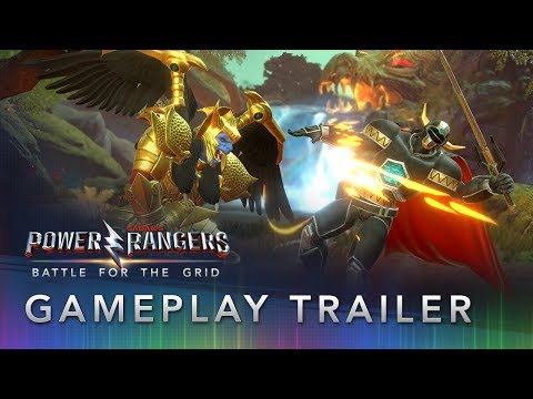 Power Rangers: Battle for the Grid - Official Gameplay