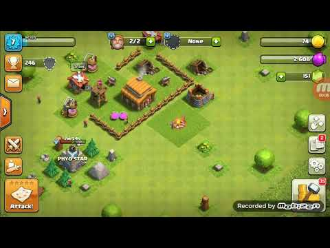 How To HACK  A Another's One's  ACCOUNT In COC In TAMIL