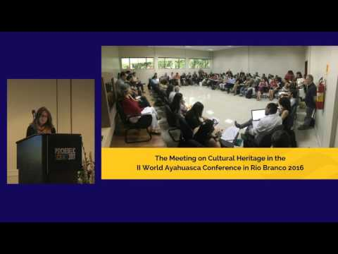 Constanza Sánchez Avilés: Ayahuasca Practices as Intangible Cultural Heritage & Drug Policy