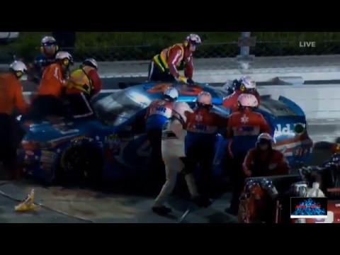2017 Go Bowling 400 VIOLENT Crash Reactions