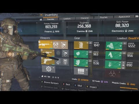 THE MOST UNFAIR PVP BUILD IN THE DIVISION... (DOES IT NEED A NERF??)
