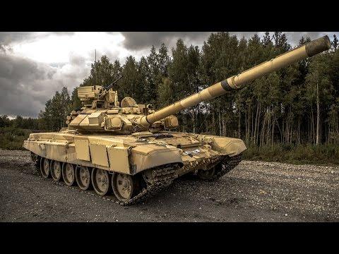 Тест-драйв танка Т-90С