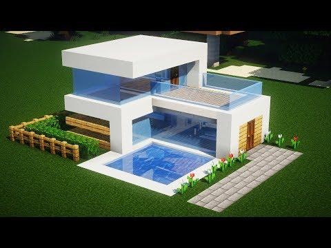 Как построить шикарный дом в майнкрафте