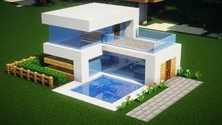 как сделать красивый дом в майнкрафте из шерсти