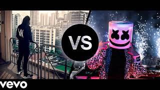 MARSHMELLO vs ALAN WALKER Mix 2018 (EDM BATTLE 😱) Marshmello & Alan Walker Best Songs