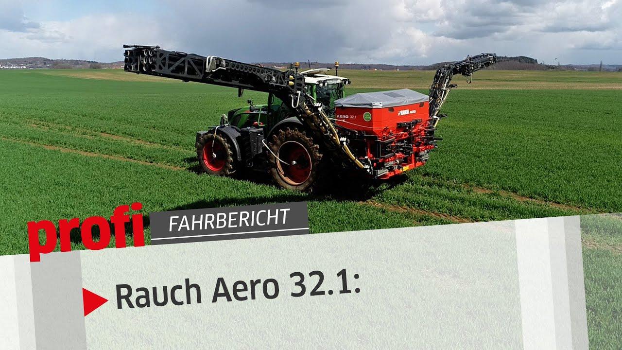 Mit Luft: Rauch Aero 32.1 | profi #Fahrbericht