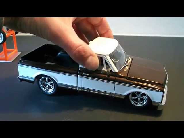 #118 - Jada Toys 1972 Chevy Cheyenne 1/24 Diecast Review