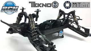 Tekno MT410 1/10th 4wd Monster Truck KIT - Build Update 1