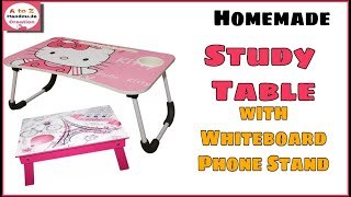 How to make study table at home/diy study table for online classes/diy study table from cardboard