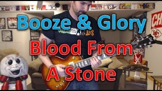 Booze & Glory - Blood From A Stone - Punk Guitar Cover (guitar tab in description!)