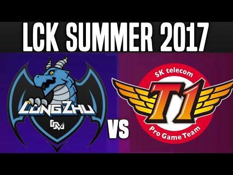 LZ vs SKT - Game 2 - LCK Summer 2017 Week 7 Day 3 - Longzhu vs SKT T1 G2 W7D3 | LoL Esports