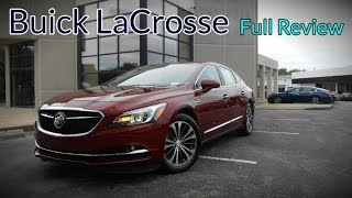 2017 Buick LaCrosse: Full Review | Base, Preferred, Essence & Premium