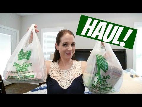 DOLLAR TREE HAUL!! 6-8-17 NEW FINDS!!