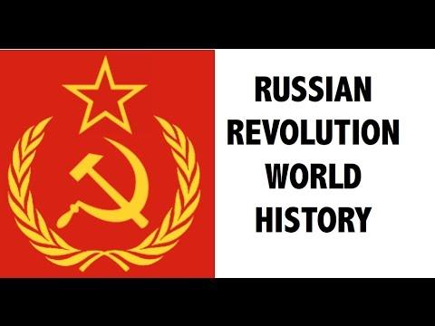 रूसी क्रांति - Russian Revolution - विश्व इतिहास हिंदी में - UPSC/IAS/SSC/PCS