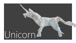 Unicorn Origami Tutorial (Satoshi Kamiya)