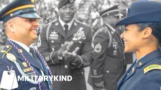 Army dad salutes his daughter on graduation day 🎓| Militarykind