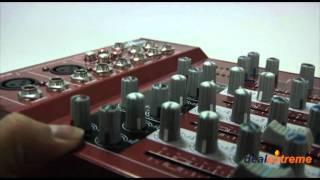 Professional Mini 4-Channel Sound Mixer - DealExtreme