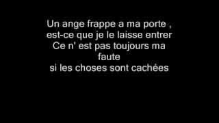 [Natasha St pier] Un ange frappe a ma porte (avec lyrics ).