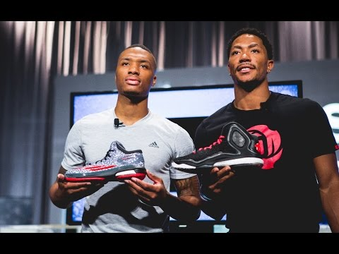 Interview: Derrick Rose and Damian Lillard launch the adidas D Rose 5 Boost and CrazyLight Boost