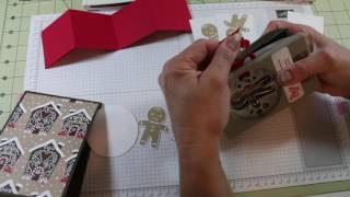 Cookie Cutter Christmas pop-up card
