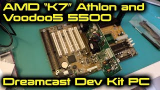 "AMD ""K7"" Athlon and Voodoo5 5500 Dreamcast Dev Kit PC"