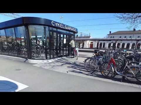 Cykelgarage i Katrineholm