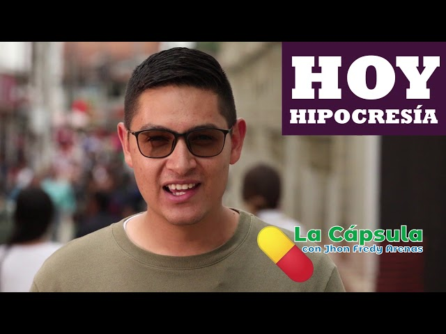 LA HIPOCRESIA