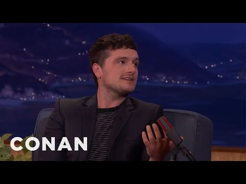 Josh Hutcherson Just Wants To Stay In Bed All Day   CONAN on TBS