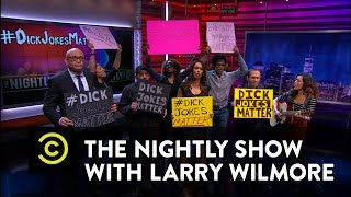 Download Video The Nightly Show - #DickJokesMatter - Donald Trump Threatens a Long Comedy Tradition MP3 3GP MP4