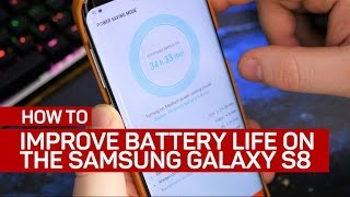 4 ways to improve battery life on the Galaxy S8
