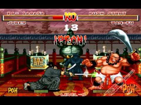 Samurai Shodown 1 YAGYU JUBEI (Arcade completo)