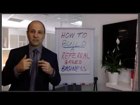[Webinar Recording] How to build a referral based business
