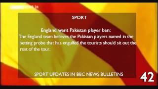 BBC News 24 1997 countdown mock