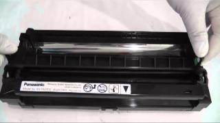 Repeat youtube video วิธีการเติมหมึก PANASONIC KX MB 772CX, refill toner in cartridge โดยคอมพิวท์