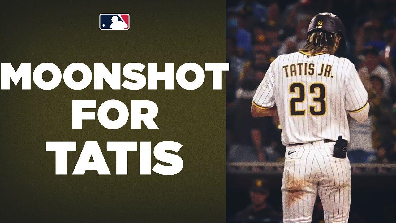 Download MOONSHOT for Tatis Jr.! Fernando Tatis Jr. CRUSHES his 31st homer of the season 440 feet!