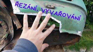 #20 Renovace Škodárny - Vyvařování druhé strany | Škoda 105 L