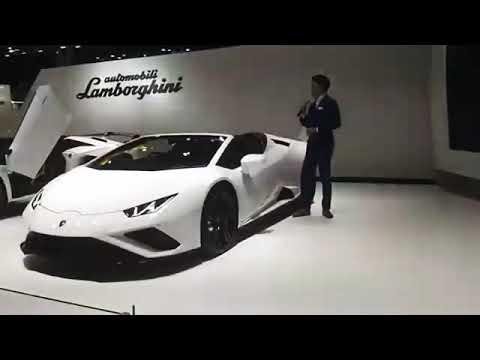 ลัมโบร์กินี อวดโฉมยนตรกรรมระดับโลกในงาน Motor Show 2020
