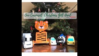 Our Kids Christmas Toy Haul - Tesco Carousel
